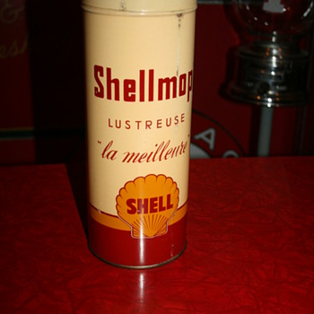 shell shellmop can - Petroliana
