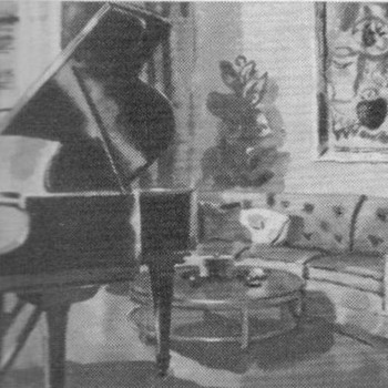 "1952 - Steinway ""Model S Grand"" Advertisement - Advertising"