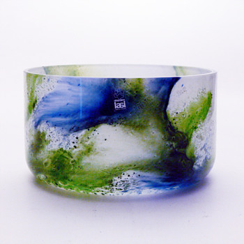 KORAALI bowl, Tamara Aladin (Riihimaki lasi Oy, 1975)