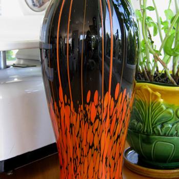 Kralik Lines & Spots Vase  - Art Deco