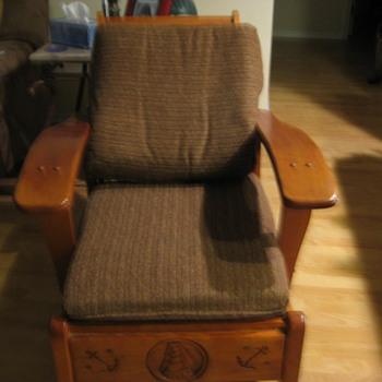 Old Chair - 1940's?? - Furniture