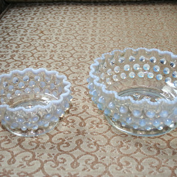 Fenton French Opalescent Hobnail what else? - Glassware