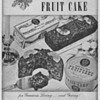 1950 Martha Ann Fruitcakes Advertisement