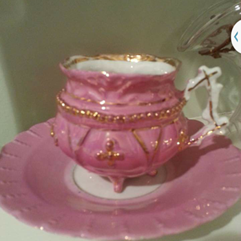 Antique German Teacup