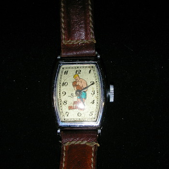 1947 Joe Palooka wristwatch by New Haven