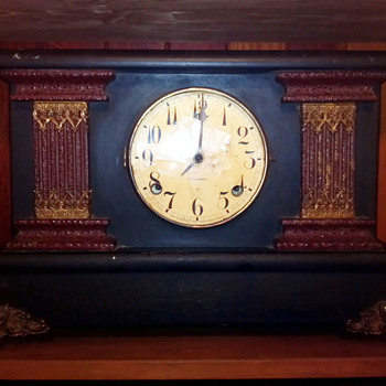 Gilbert mantle clock...more info to come!
