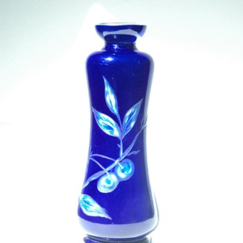 art nouveau vase by desire christian workshop.