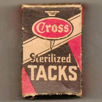 1950's - W.W. Cross Carpet Tacks