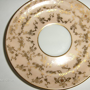 Limoges France Saucer - China and Dinnerware