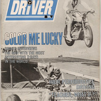 USAF Driver Magazine - June 1971 Issue - Paper