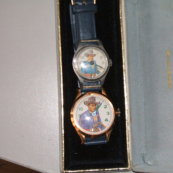 Three Different Muros (New Haven) Texas Ranger Watches - Wristwatches