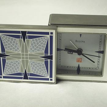 Alarme Clock, BULOVA, Modern