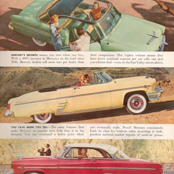 1954 - Mercury Advertisement