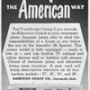 1953 - American Coach Mobile Homes Advertisement