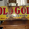 Old Gold cigarettes...Porcelain Sign...Four Colors