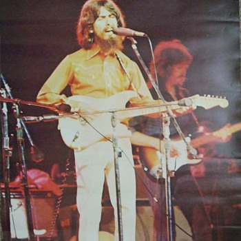 Several More of the 1960's-Early 1970's Beatles-George Harrison Posters - Music