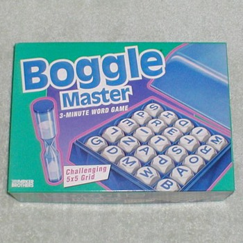 1993 Boggle Master Game - Games