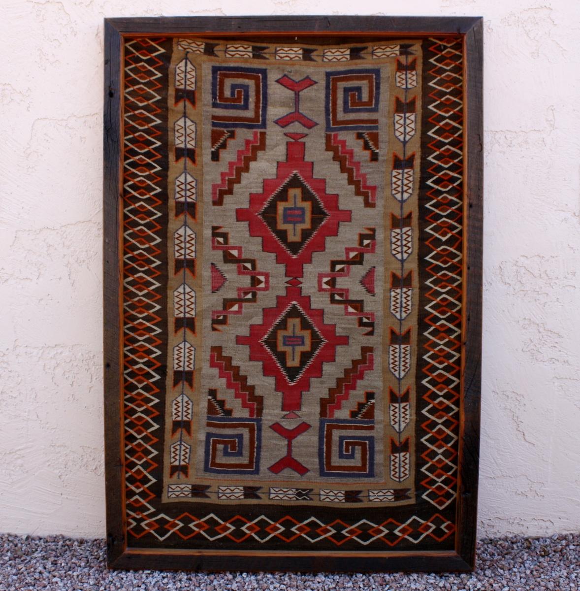 Old Native American Blanket / Rug