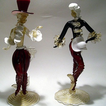 Murano Glass Figurines - Art Glass