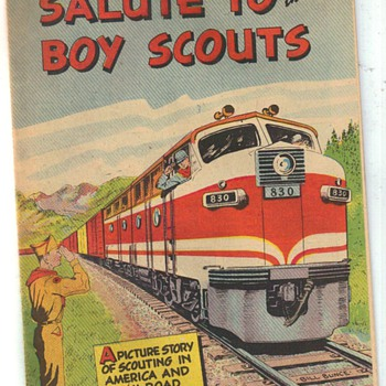 Boy Scouts and the Railroad - Railroadiana