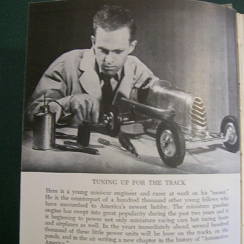 "1941 Book ""Model Gasoline Engines """