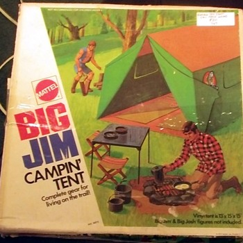 Big Jim Camp Tent set - Toys