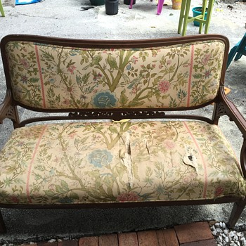 My Unidentied Antique Loveseat