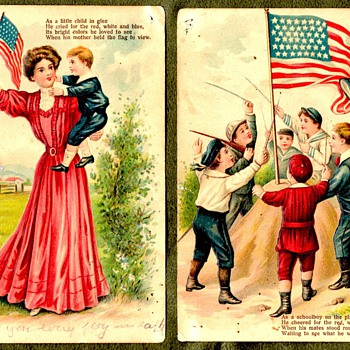 Patriotic Military Series of Postcards  - Postcards