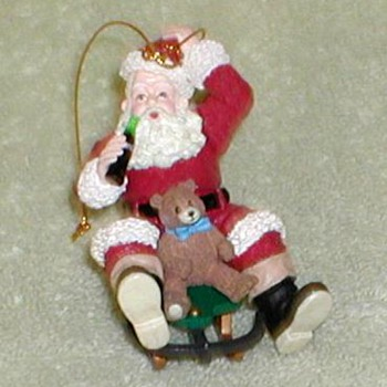 Coca Cola Santa Claus Ornament