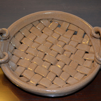 Clay Woven Basket