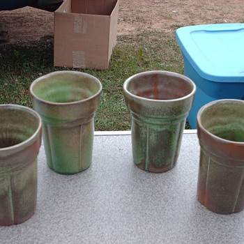 Frankoma Tumblers - Art Pottery