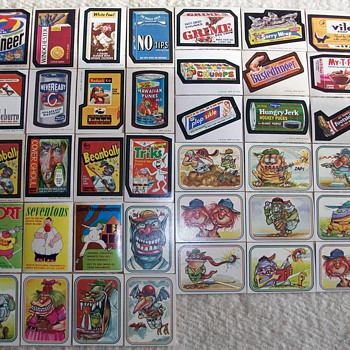 Some Of My Childhood Memories / Wacky Packages and Others - Cards