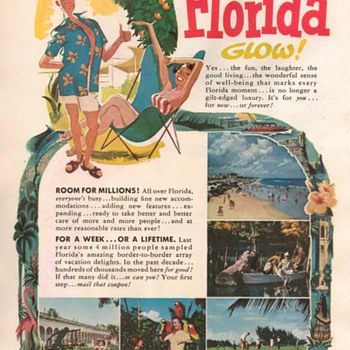 1953 - Florida Travel Advertisement