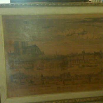 Daniel Derveaux view of paris - Posters and Prints