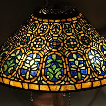 The Venetian Lamp, true to Tiffany Studios.