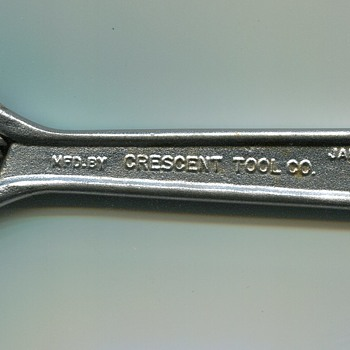 Crescent Wrench..1960s