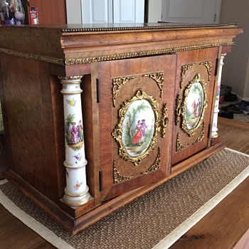 Inherited Jewelry Box - Costume Jewelry