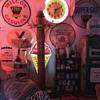 Koken Lighted Barber Pole w/Porcelain base