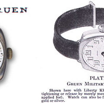 Gruen Veri-Thin Ladies Wristwatch - Wristwatches