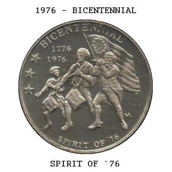 Bicentennial Medal - Spirit of `76 - US Coins