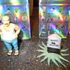 "KidRobot ""Early"" and ""Carl"" vinyl figures"