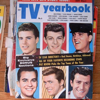 Old Movie Star magazines circa 1959 - Movies