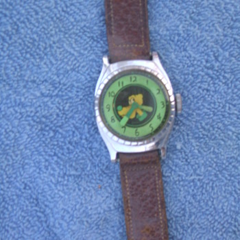 1949 Luminous Dial Pluto - Wristwatches