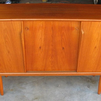Danish Modern Teak Crededenza/Sideboard by Axel Christensen for ACO Mobler