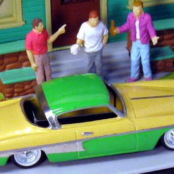 The Studebaker (EL PRESIDENTE') from the Rembrandt Album of Remastered 1/43rd Range Automobilia - Model Cars