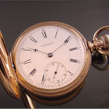 E. Howard 14k Series Vll Size N Hunt Case Pocket Watch - Pocket Watches