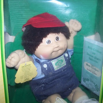 1985 Cabbage Patch Boy Doll - Dolls