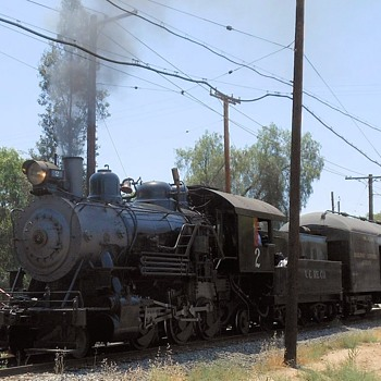 Taking a Ride on a Steam Locomotive - Railroadiana