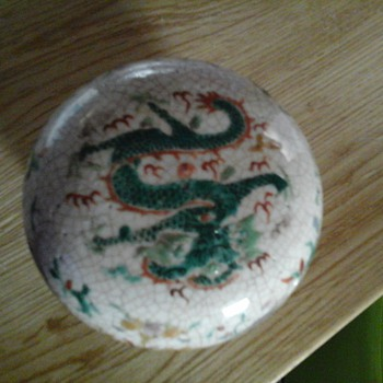 chinese dragon pot
