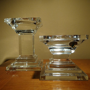 WATERFORD CRYSTAL METROPOLITAN PILLARS - Glassware